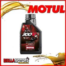 108586 1 LITRO OLIO MOTUL 300V² FACTORY LINE ROAD RACING 10W50 100% SINTETICO PER MOTORI 4T