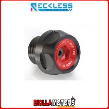 Y02TM01XR TAPPO CARICO OLIO RECKLESS NERO/ROSSO YAMAHA T-MAX T MAX TMAX 59C SP ABS 530 2015-2016 SCOOTER E MOTO