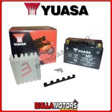 E01135 BATTERIA YUASA YT9B-BS SIGILLATA CON ACIDO YT9BBS MOTO SCOOTER QUAD CROSS