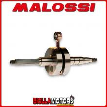 538631 ALBERO MOTORE MALOSSI RHQ ATALA HACKER 50 2T SP. D. 10 CORSA 37,4 MM -