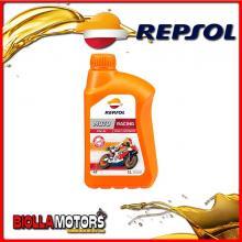RP160M51IT 1 LITRE HUILE REPSOL MOTO RACING 4T 15W50 1LT