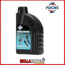 601450419 FLACON DE 1 L HUILE DE SUSPENSION FUCHS SILKOLENE RSF 7.5 ISO 32