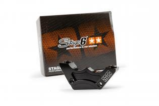 S6-140070 Stage6 R/T CNC Rear Brake Caliper Adapter for Stage6 4 Piston Caliper R/T Minarelli Horizontal