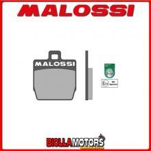 6215058BB COPPIA PASTIGLIE FRENO MALOSSI Posteriori MBK NITRO 50 2T LC SPORT Posteriori - per veicoli PRODOTTI 1997 --> ** OMOLO