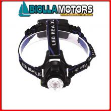 2114610 TORCIA LED HEAD DIVING YELLOW 3W< Torcia Frontale LED Diving