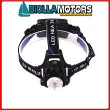 2114703 TORCIA LED ALU BLACK 135< Torcia 10W CREE LED Power AL