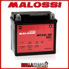 YTX5L-BS BATTERIA MALOSSI APRILIA SR50 Ditech 50 2003- 4418918 YTX5LBS [A GEL]