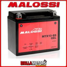 YTX12-BS BATTERIA MALOSSI APRILIA Scarabeo L 400 2000-2007 4418922 YTX12BS [A GEL]