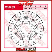 MSW229 DISCO FRENO ANTERIORE TRW Honda VFR 800 FABS 2014-2016 [FLOTTANTE - ]