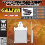 FD152G1054 PASTIGLIE FRENO GALFER ORGANICHE POSTERIORI MALAGUTI F 15 FIRE FOX LC 98-