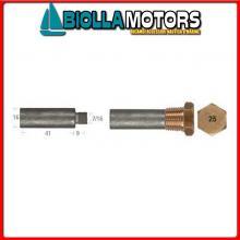 5127546 ANODO BARROTTO Barrotti Motore Caterpillar (16x41mm)