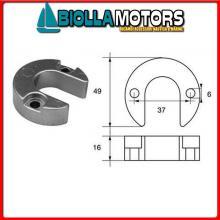 5123117 ANODO MOTORE MERCRUISER Collare Alpha (Tutti)