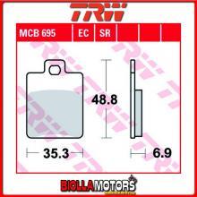MCB695EC PASTIGLIE FRENO POSTERIORE TRW CPI GTR 50 2003- [ORGANICA- EC]