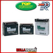 0012650 BATTERIA TOP YB12A-A YB12AA MOTO SCOOTER QUAD CROSS [SENZA ACIDO]