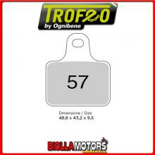 43005701 PASTIGLIE FRENO ANTERIORE OE PINZE RACING pinza Brembo racing (serie 4 pz) 5555- CC [SINTERIZZATE]