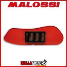 1415338 FILTRO ARIA MALOSSI W BOX YAMAHA X MAX 125 IE 4T LC EURO 3 2009->2013 PER FILTRO ARIA ORIGINALE -