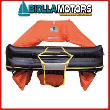 2901246 ZATTERA EV 6P ABS ISO9650 ITALY Zattera di Salvataggio Oceanic-Italia 9650 Eurovinil