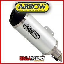 73502AN TERMINALE ARROW URBAN PIAGGIO MP3 400 LT 2007-2011 ALLUMINIO/DARK