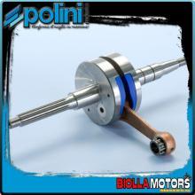 210.0010 ALBERO MOTORE POLINI KTM K 50 BIELLA 80 - SP.12 Per variatore originale o con spinotto da 13mm