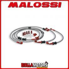 2215529 KIT TUBI FRENO MALOSSI YAMAHA T MAX 530 IE 4T LC 2012->2014 (J409E) ANTERIORI/POSTERIORI -