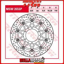 MSW265SP DISCO FRENO ANTERIORE TRW Honda CBR 1000 RRFireblade 2008-2016 [FLOTTANTE - ]