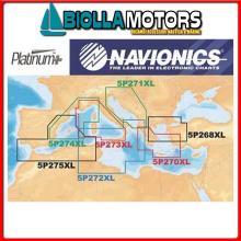 5626074 5P274XL MSD PLATINUM+ CARD Navionics Platinum+ XL Multi-Dimensional Cartography