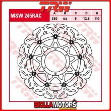 MSW245RAC DISCO FRENO ANTERIORE TRW Honda CBR 900 RRFireblade 2000-2001 [FLOTTANTE - CON CONTOUR]