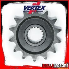 891-326K14 PIGNONE VERTEX K 14-520 HONDA CR 125 R 2002- 125CC - ACCIAIO/NERO
