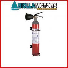 3020065 ESTINTORE PER BARCA CO2 SOLAS 5KG Estintori M.E.D. 96/98/EC (CO2)