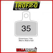 43003500 PASTIGLIE FRENO ANTERIORE OE MACBOR XC 50 510 RACING 2004- 50CC [ORGANICHE]
