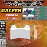 FD176G1651 PASTIGLIE FRENO GALFER PREMIUM ANTERIORI MZ/MuZ 1000 S 01-