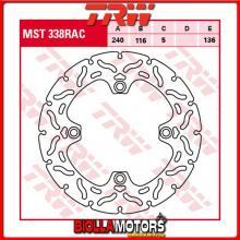 MST338RAC DISCO FRENO POSTERIORE TRW Honda CBF 500 2004-2007 [RIGIDO - CON CONTOUR]