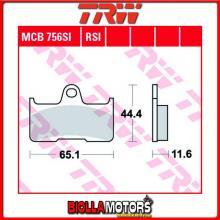MCB756SI PASTIGLIE FRENO POSTERIORE TRW Quadzilla 500 e 4x4 2007- [ORGANICA- ]