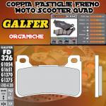 FD326G1054 PASTIGLIE FRENO GALFER ORGANICHE ANTERIORI HONDA CBR 1000 RR FIREBLADE C-ABS 09-