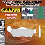 FD138G1651 PASTIGLIE FRENO GALFER PREMIUM POSTERIORI VECTRIX VECTRIX ELECTRIC 3W 07-