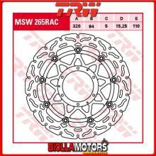 MSW265RAC DISCO FRENO ANTERIORE TRW Honda CBR 1000 RRFireblade 2008-2016 [FLOTTANTE - CON CONTOUR]