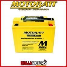 MB7BB BATTERIA MOTOBATT YB7B-B AGM 813077 YB7BB MOTO SCOOTER QUAD CROSS
