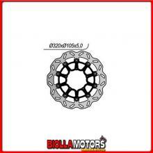 6591146X DISCO FRENO ANTERIORE NG BMW G SMR 450CC 2009/2010 1146X 320-?-105-5-5-6,5 FLOTTANTE