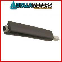 3833045 TERMINALE PROFILI T2 BLACK Bottazzo Profilo Parabordo T