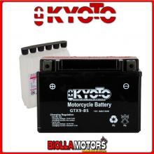712090 BATTERIA KYOTO YTX9-BS SIGILLATA CON ACIDO YTX9BS MOTO SCOOTER QUAD CROSS