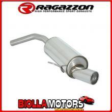 58.0001.06 SCARICO Evo Alfa Romeo 156 1.9JTD (77/81/85/103/110kW) Berlina + Sportwagon 1997> Posteriore inox con terminale roton