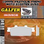 FD399G1054 PASTIGLIE FRENO GALFER ORGANICHE POSTERIORI TGB X - MOTION 250i 08-
