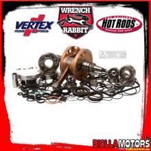 WR00006 KIT ALBERO MOTORE + PISTONE + ACCESSORI WRENCH RABBIT Honda CRF 450 RX 450cc 2018-