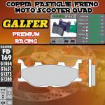 FD169G1651 PASTIGLIE FRENO GALFER PREMIUM ANTERIORI MOTOM TRANSCITY 07-