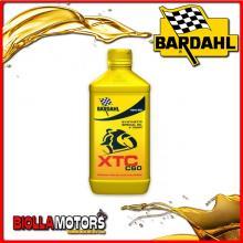 324141 1 LITRO OLIO BARDAHL XTC C60 15W50 LUBRIFICANTE PER MOTO 4T 1LT
