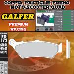 FD172G1651 PASTIGLIE FRENO GALFER PREMIUM POSTERIORI TRIUMPH THUNDERBIRD STORM 1700 11-