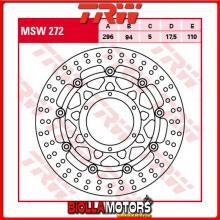 MSW272 DISCO FRENO ANTERIORE TRW Honda CBF 1000 2006-2010 [FLOTTANTE - ]