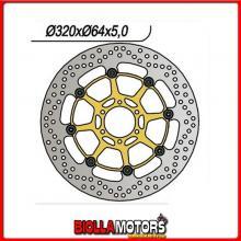 6591060 DISCO FRENO ANTERIORE NG BMW G Xmoto (K15) 650CC 2007/2011 1060 320-80-64-4-6-8,5