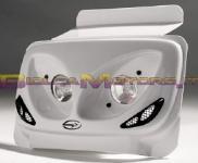 OPTIQUE00501 MASCHERA ANTERIORE BCD bianca TWIN LIGHT- Booster 2004