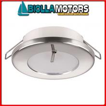 2149009 LUCE LED TED N-IP40 COMPOSITO BIANCO Faretto Ted CS - IP40